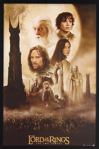 LotR: The Two Towers Framed Poster