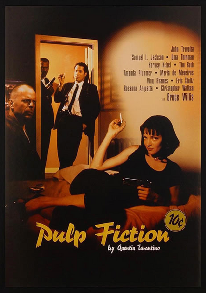 Pulp Fiction Framed Poster