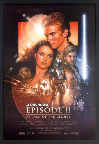 Star Wars II: Attack of the Clones Framed Poster
