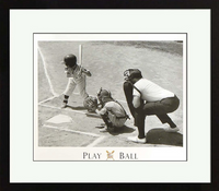 Play Ball Framed Artwork