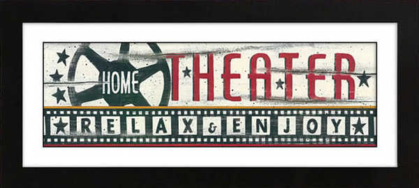 Home Theater Framed Artwork
