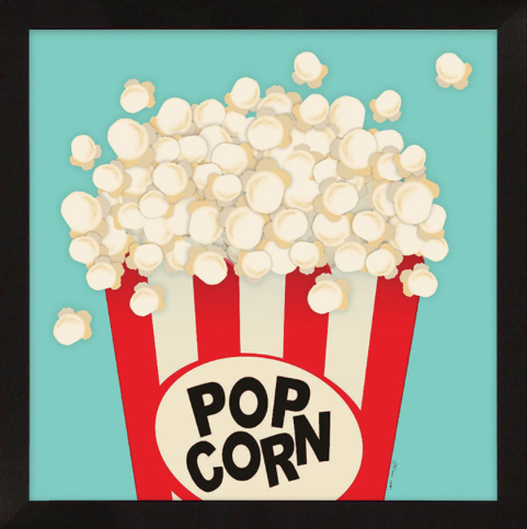 Popcorn Framed Artwork