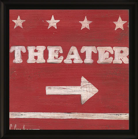 Theater Framed Artwork