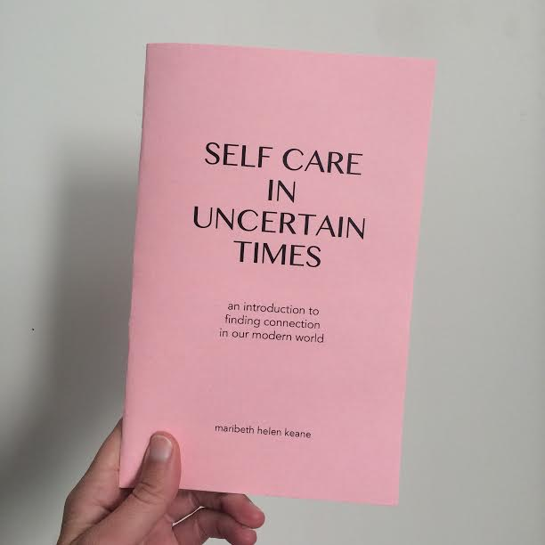 Zine, Self Care in Uncertain Time