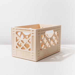 WAAM Industries - Wooden Milk Crate - Classic Browser