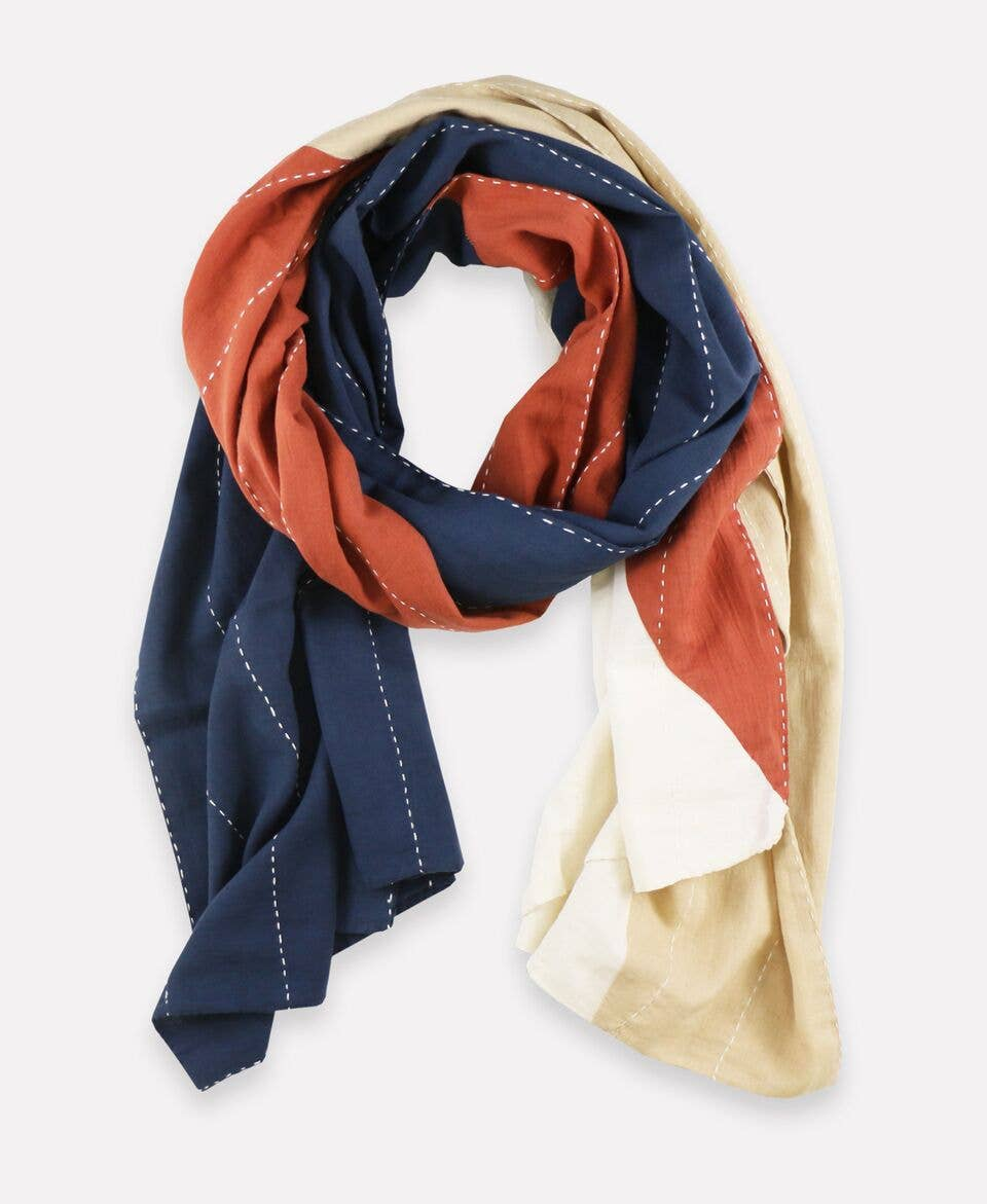Anchal - Rust Straight Scarf