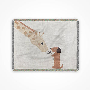 Blanket Throw, Giraffe