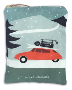 Pouch, Winter Travel