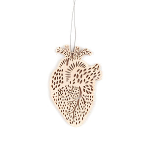 Light + Paper - Heart Ornament