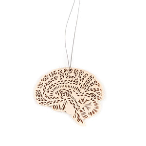 Light + Paper - Brain Ornament