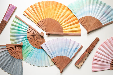 Spanish Hand-Painted Fans