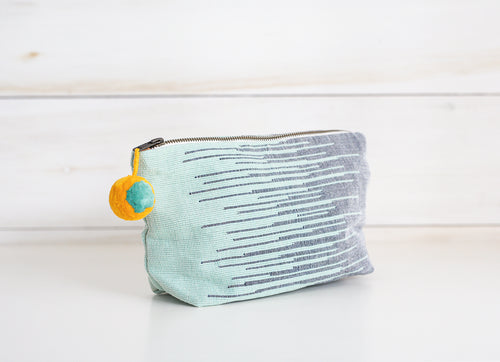 Handwoven Cristina Cosmetic Pouch