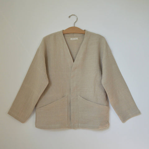 Hemp Studio Jacket, Natural
