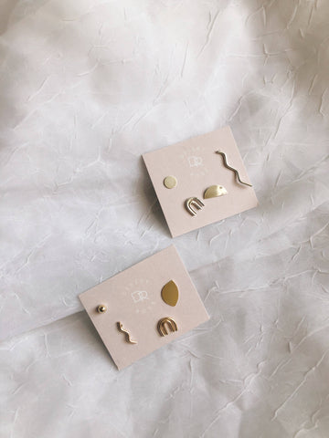 Stud Earrings, Mix + Match