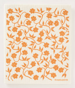 Swedish Dishcloth, Honey Vines