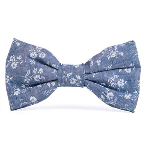 Bow Tie, Chambray Floral