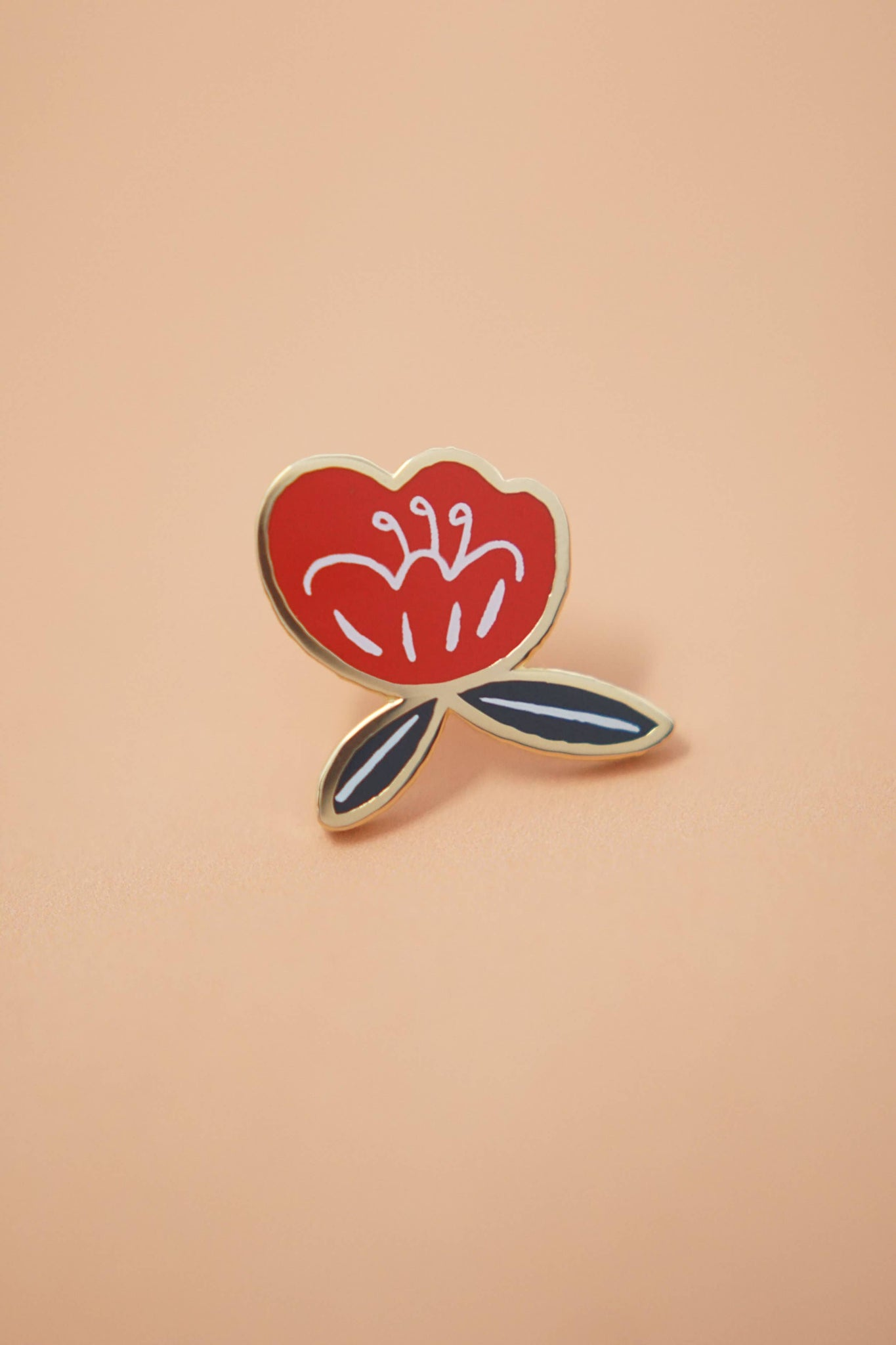 Pin, Poppy Flower