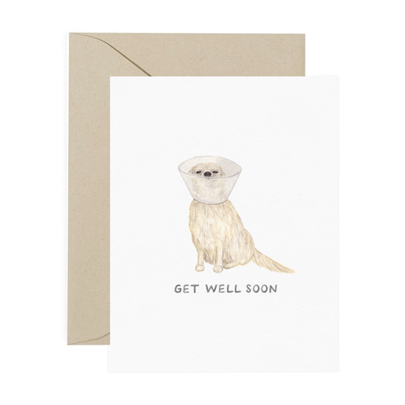 Card, Get Well Pup