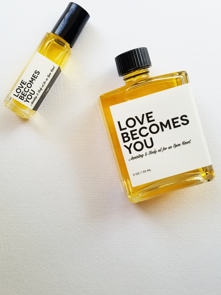 Anointing & Body Oil for an Open Heart, Love Becomes You