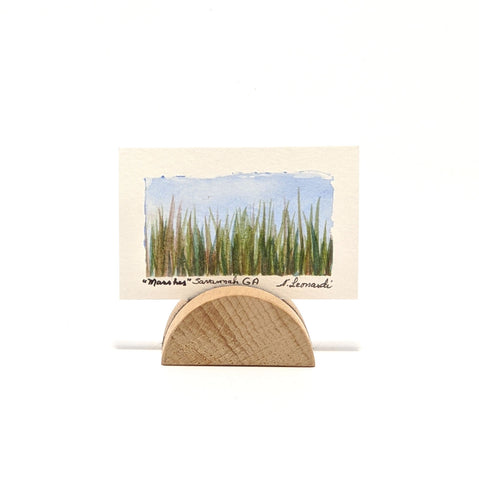 Mini Watercolor, Marshes