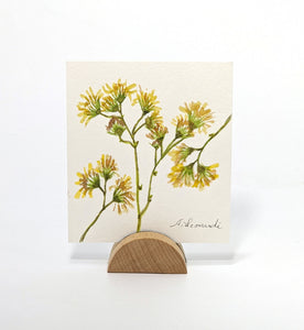 Yellow Flowers, Original Watercolor