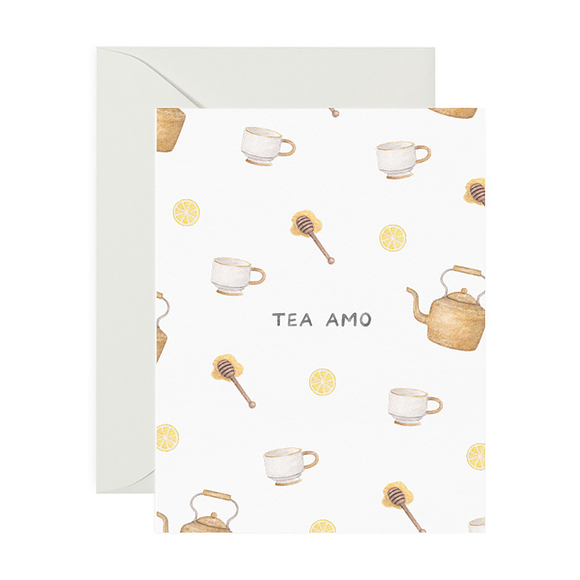 Card, Tea Amo Love