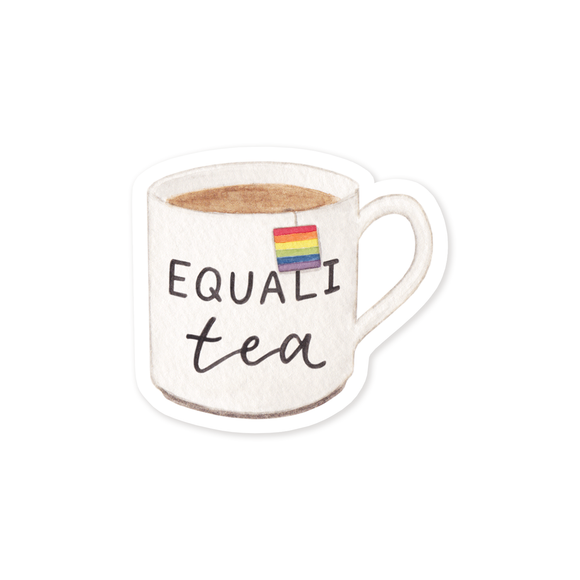 Sticker, Equali-Tea Pride