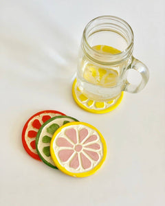 Ceramic Fruit Coasters
