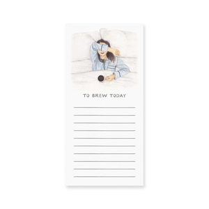 Amy Zhang - To Brew Today Notepad