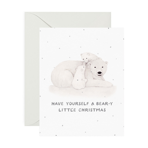 Card, Bear-y Little Christmas