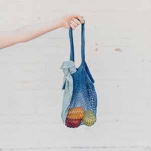 Dyeraid - Indigo Net Market Bag
