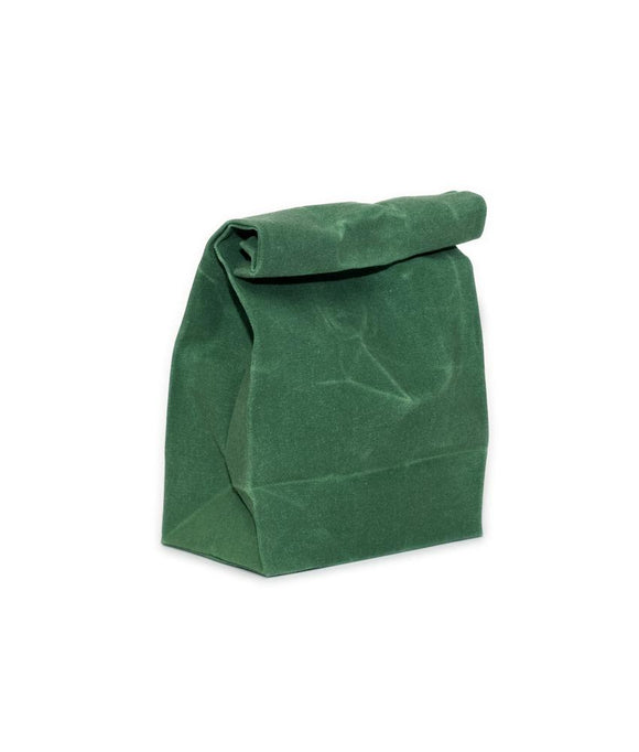 Waxed Canvas Bag, Emerald