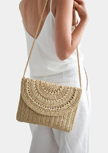 Crochet Raffia Cross Body