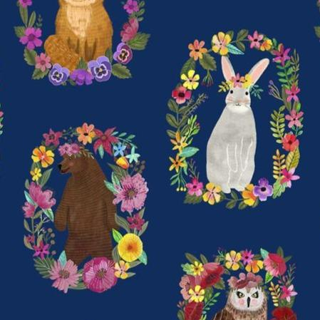 Forest Friends by Mia Charro for  Blend Fabrics