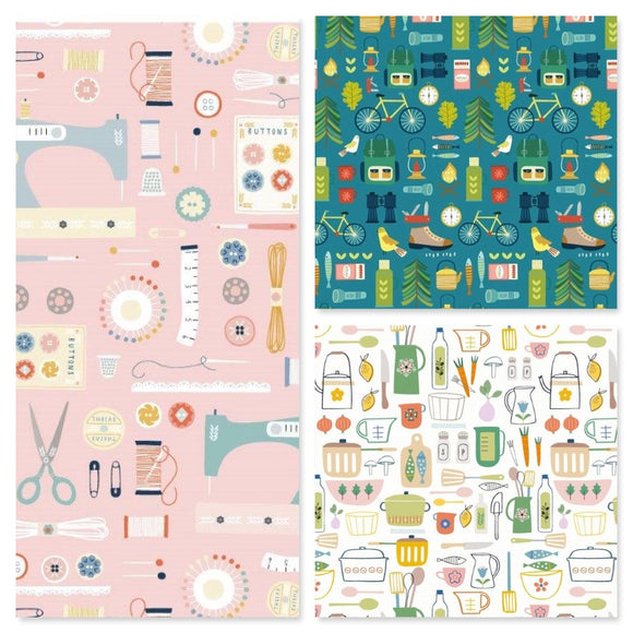 Hobbies by Sally Payne for Dashwood Studio