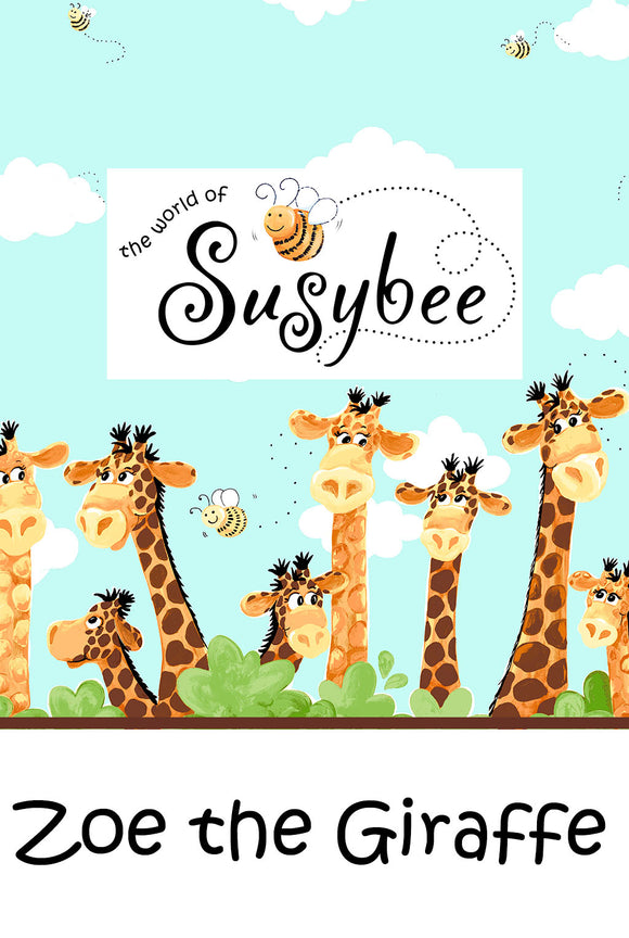 Zoe, the Giraffe by The World of Susybee