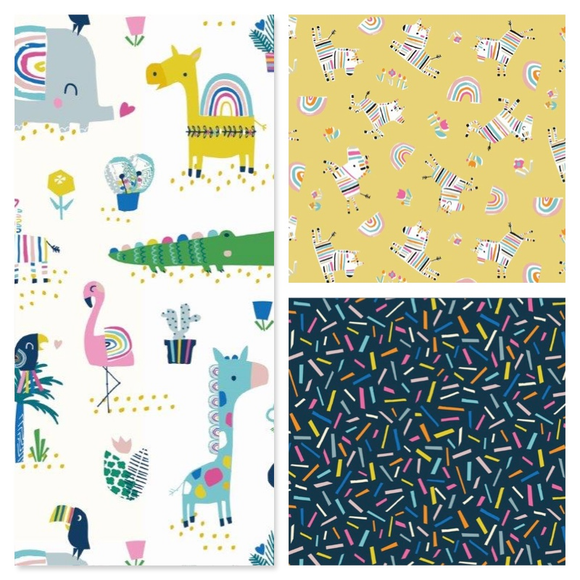 Rainbow Friends by Stephanie Thannhauser for Dashwood Studio