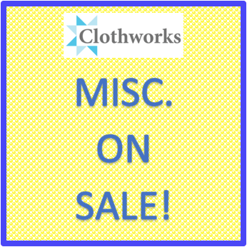 Clothworks - Misc. On Sale
