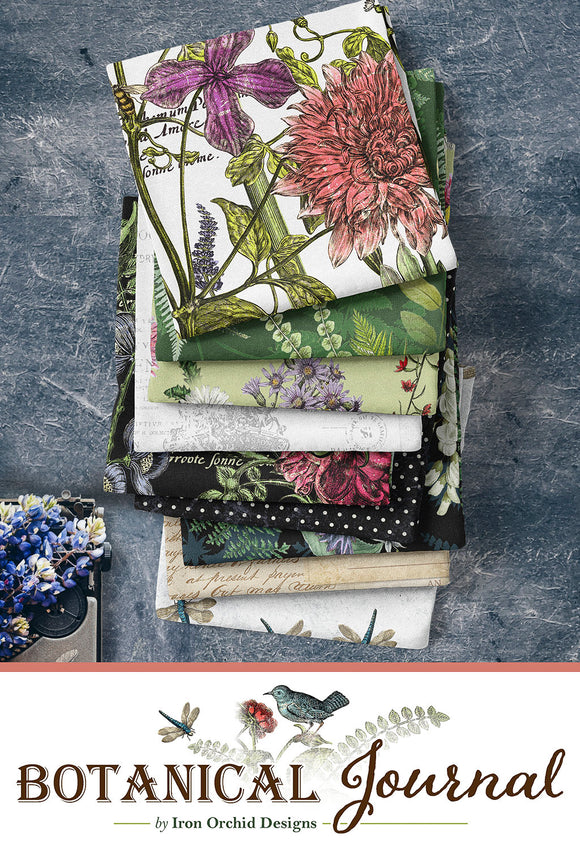 Botanical Journal by Iron Orchid Designs for Clothworks