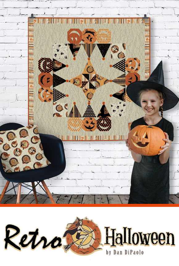 Retro Halloween by Dan Di Paolo for Clothworks