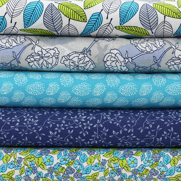 Five - Floral Blues Collection
