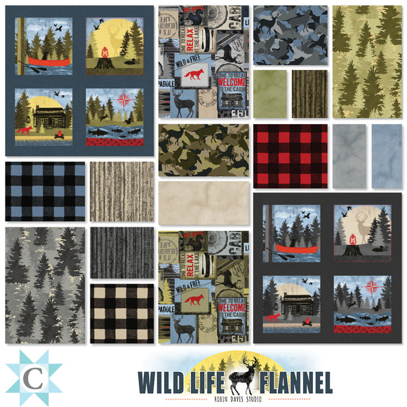 Wild Life Flannel Complete Program