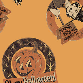 Retro Halloween by Dan DiPaolo for Clothworks