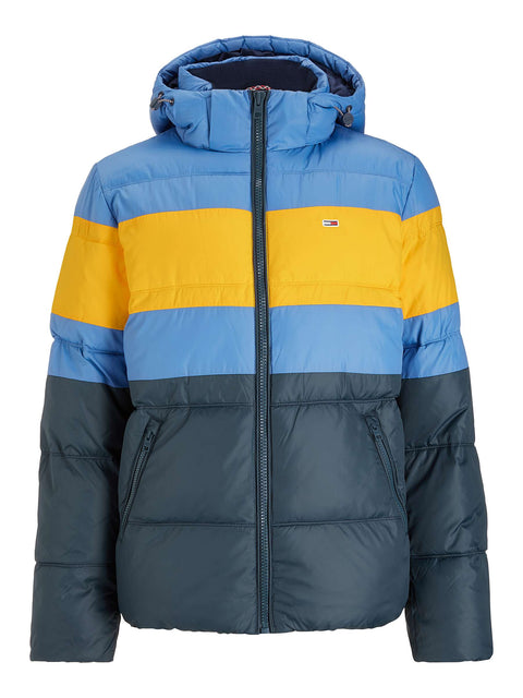 Tommy Jeans Rugby Colour-Blocked Puffer Jacket