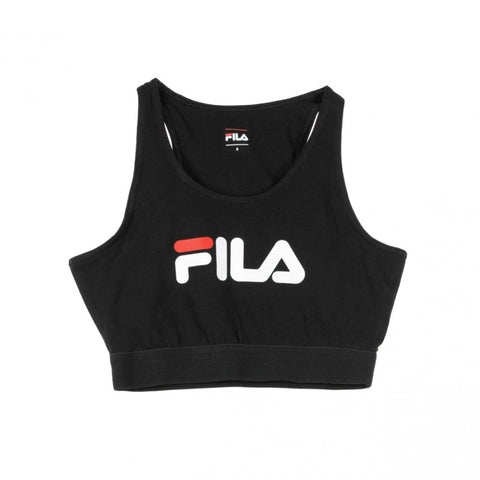 Fila Women's Josette Crop Top Black