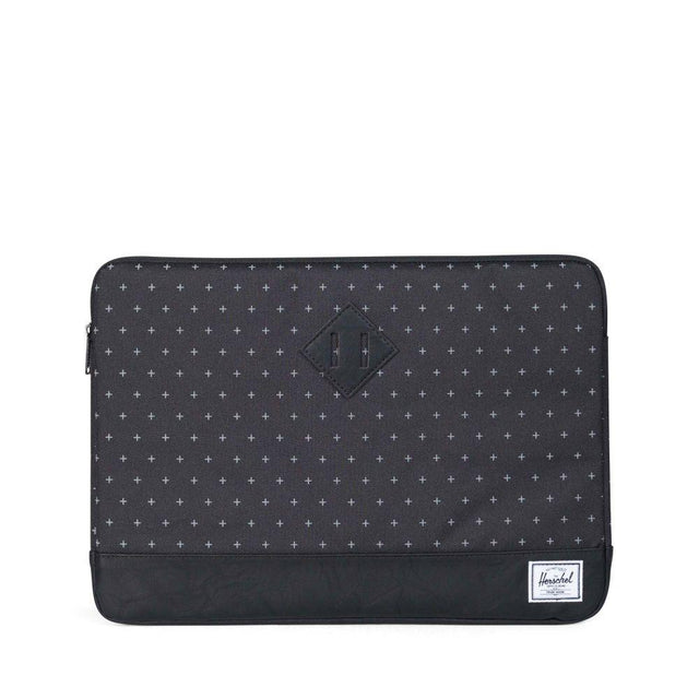 Herschel Supply Sleeve for 15 inch Macbook Black Gridlock 10056-01577-15