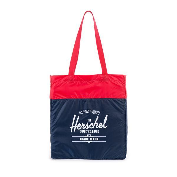 Herschel Supply Packable Travel Tote Navy/ Red 10077-00009