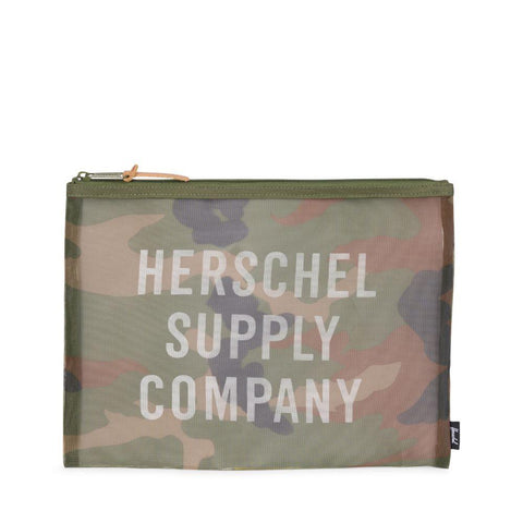 Herschel Supply Network Pouch Large Mesh Woodland Camo 10163-00711