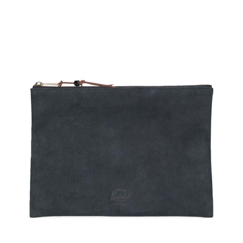 Herschel Supply Network Large Leather Pouch Black 10287-01604