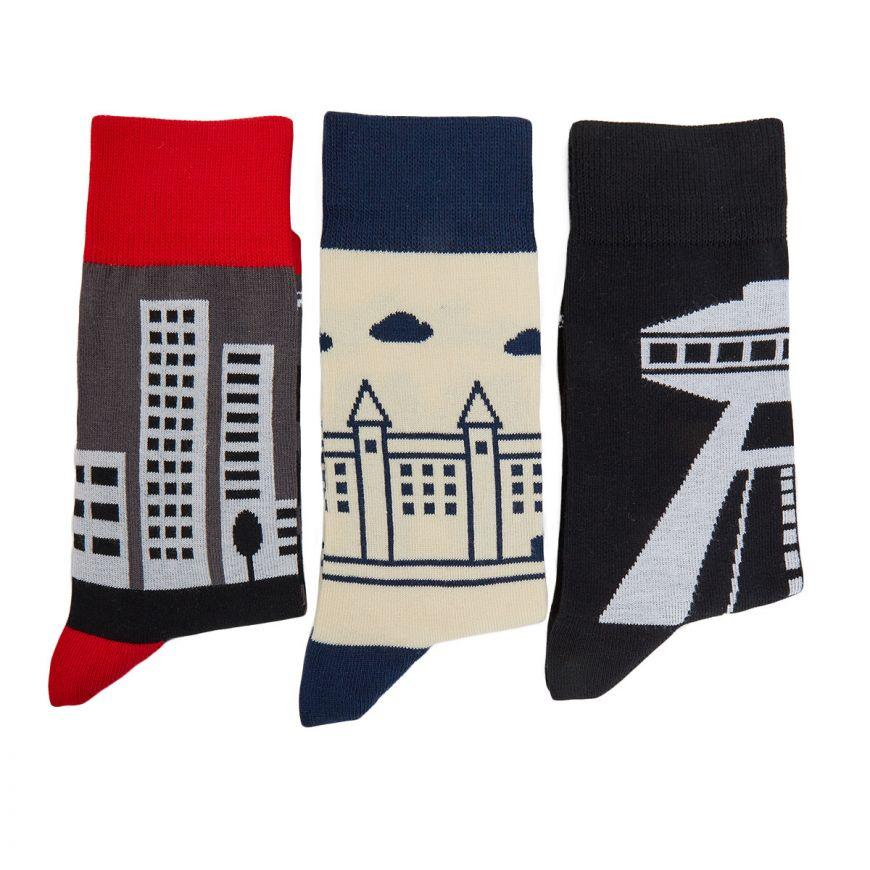 Fusakle Gift 3 pack of socks